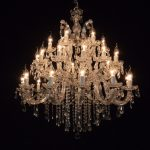 100cm large maria theresa chandelier for wedding or event