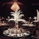 styling event with the house of chandeliers rental