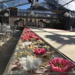 chandeliers as decoration wedding marquee for hire