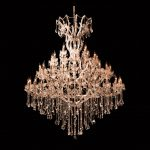 60 light chandelier for hire and rental